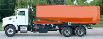 truck for dumpster rentals in Fort Lauderdale, Florida